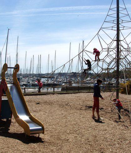 Aire de jeux Port La Forêt
