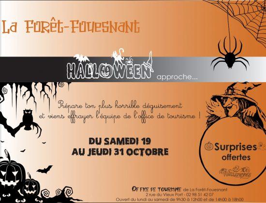 Halloween à l'office de tourisme