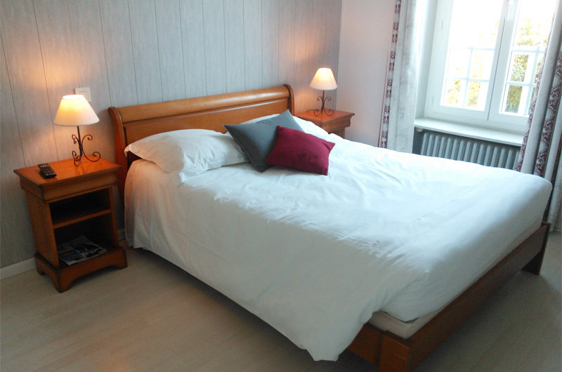 Fouesnant-Hotel l'Oree du Bois Chambre