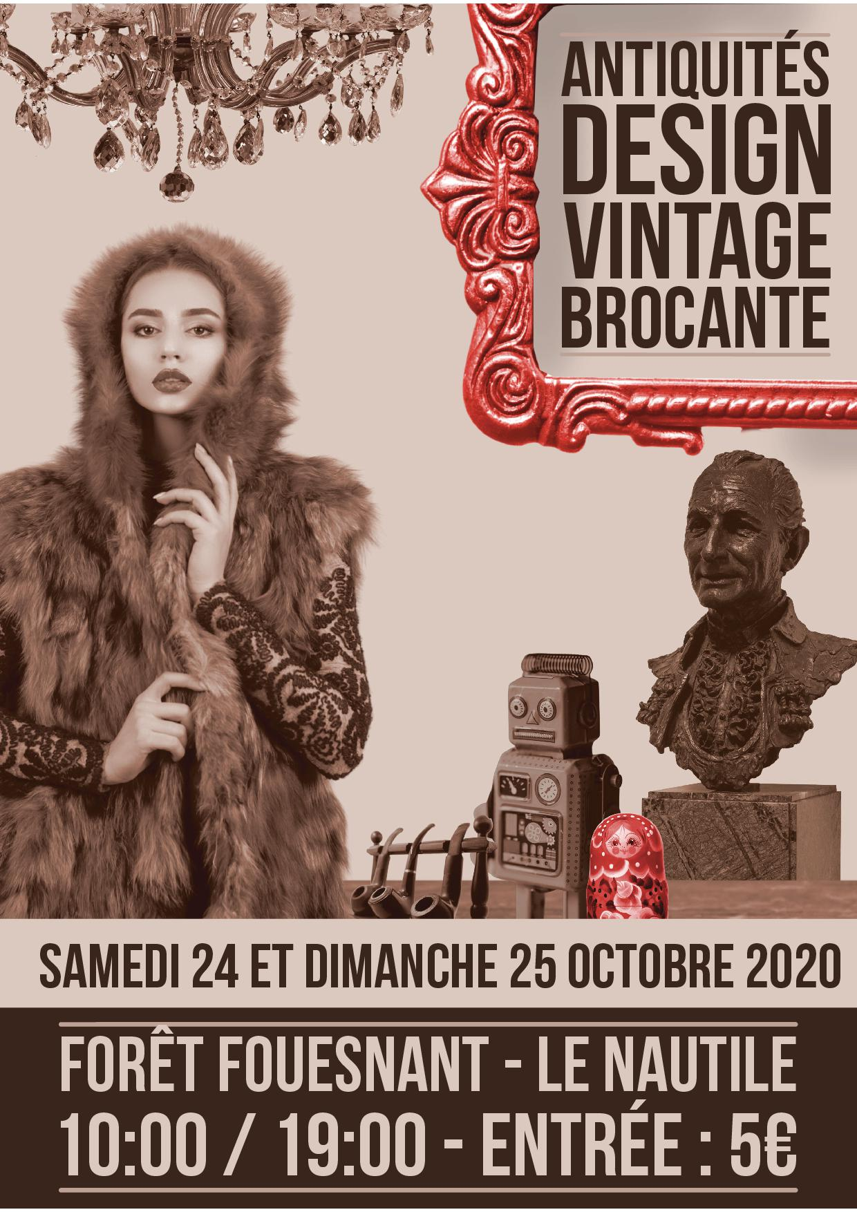 ANNULE – Antiquités, design, vintage, brocante