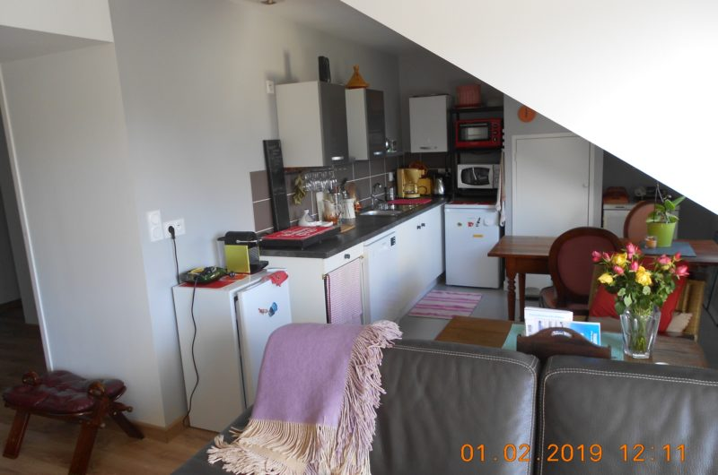 Kitchenette-salon