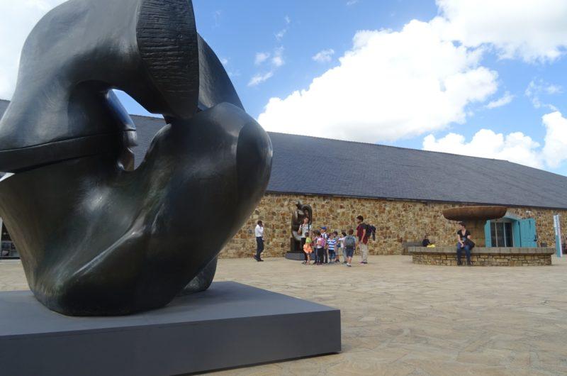 Exposition Henry Moore © Tourisme Landerneau Daoulas