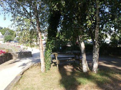 Aire de pique-nique Place de la Baie