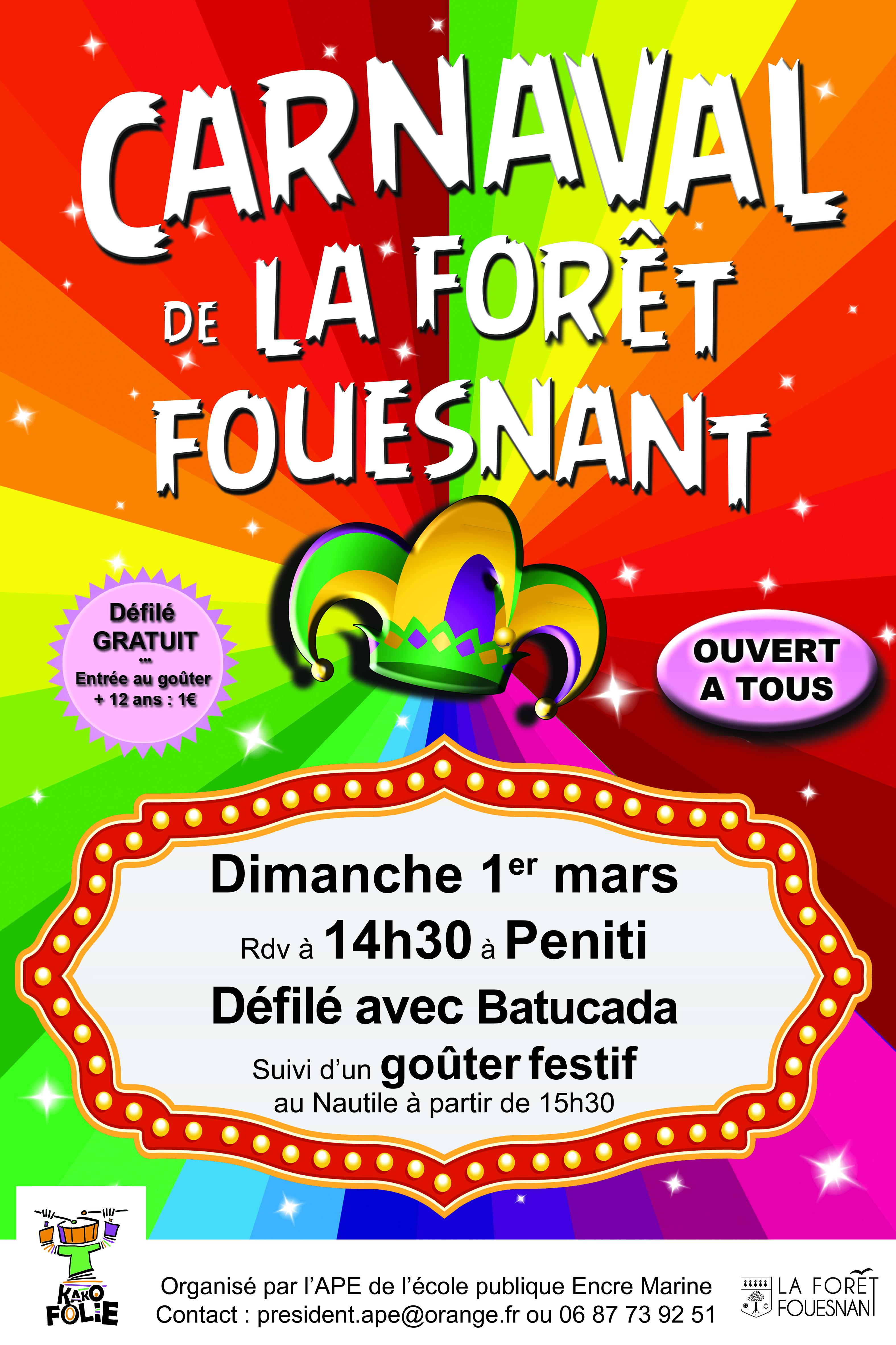 Carnaval de La Forêt-Fouesnant