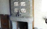 château de Keriolet cheminée salle des Gardes