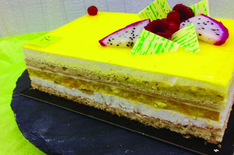 Gâteau Tropique – Boulangerie Richard