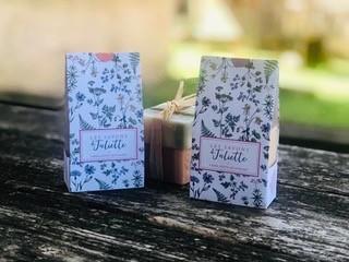 Packaging soigné – Les Savons de Juliette