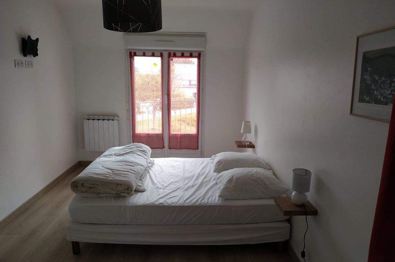 1 chambre : 1 lit double