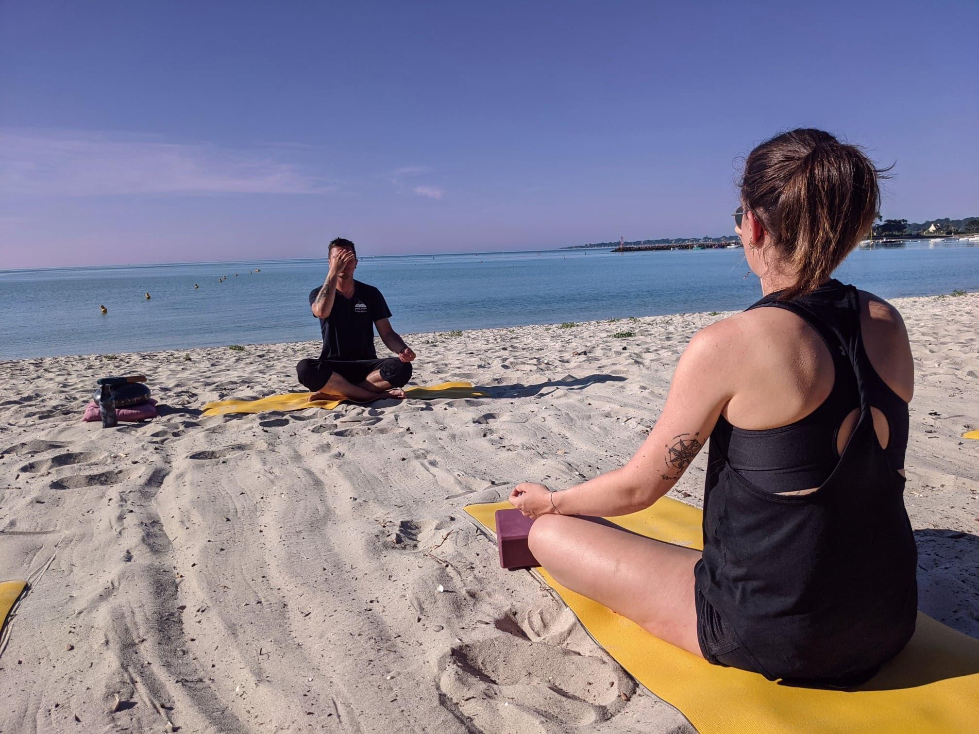 Cours de Yoga – Plage de Kerleven